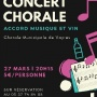 illustration : Concert Chorale et dégustation
